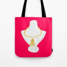 Gold Tassel Tote Bag