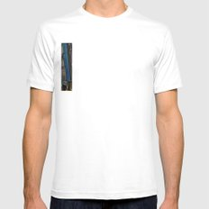 Planes, Trains, but no Automoblies White Mens Fitted Tee SMALL