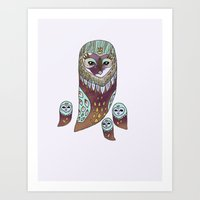 who sings lullaby Art Print