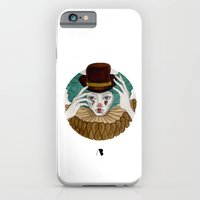 iPhone & iPod Case featuring Pierrot...Pierrette by annabours