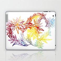 Flower Burst Color High Laptop & iPad Skin