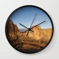 Smith Rock Sunrise II Wall Clock