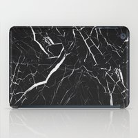 Black Marble  iPad Case