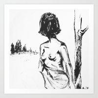 Woman No.2 Art Print
