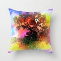 Tree of Fantasy Throw Pillow