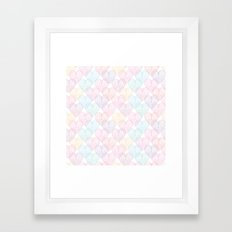Patterns Of My Heart Framed Art Print