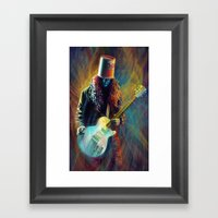 Buckethead Framed Art Print
