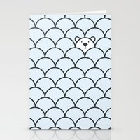 bear Stationery Cards featuring The Last Polar Bear by John Tibbott