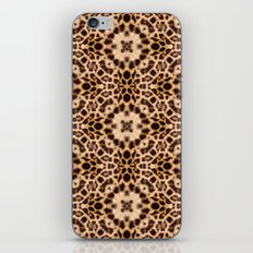 Leopard Kaleidoscope Wild Animal Print iPhone & iPod Skin