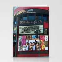 The Whisky A Go Go Stationery Cards