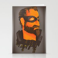 THE CITY HERO Stationery Cards