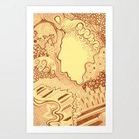 Atavistic Art Print