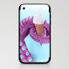 OCTOPUS ICE CREAM iPhone & iPod Skin