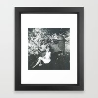 Break my Silence Framed Art Print