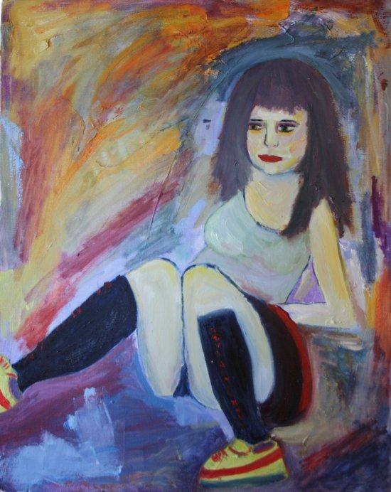 'Burlesque No. 3'  Canvas Print