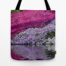 A Colorful River Tote Bag