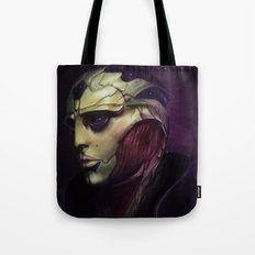 Mass Effect: Thane Krios Tote Bag