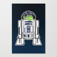 A Droid In You Droid Canvas Print