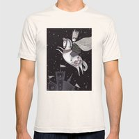 Five Hundred Million Lit… Mens Fitted Tee Natural SMALL