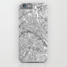 Paris Map Line iPhone 6 Slim Case