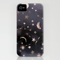 iPhone 4s & iPhone 4 Cases featuring Constellations  by Nikkistrange