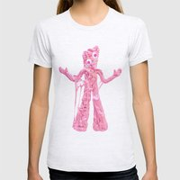 Bubble Gumby Womens Fitted Tee Ash Grey SMALL