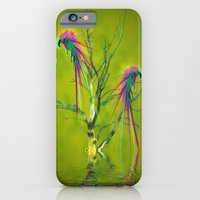 iPhone & iPod Case featuring Fantasy Parrots by Shalisa Photography