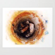 Alice's Cigarettes Art Print