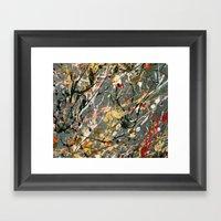 Jackson Pollock Interpre… Framed Art Print