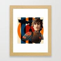 Train a Dragon Framed Art Print