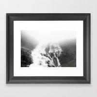 BERGSVATTEN Framed Art Print