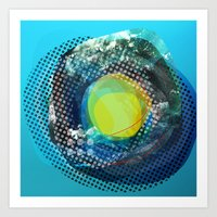 the abstract dream 5 Art Print