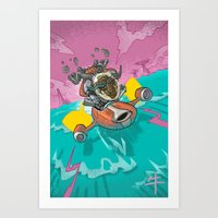 Astro Zodiac Force 02:  … Art Print