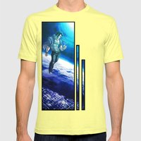 Ornithopter Mens Fitted Tee Lemon SMALL