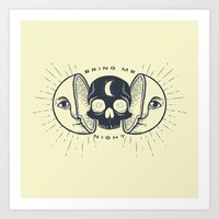 Kill the Sun, Bring Me Night Art Print