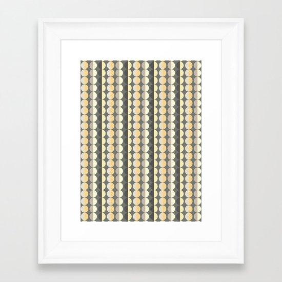 Scandi Strands Framed Art Print