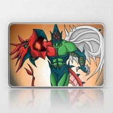 Yu-Gi-Oh! GX Elemental Hero Flame Wingman Laptop & iPad Skin