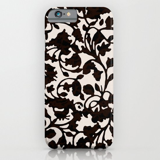 Earth Black iPhone & iPod Case
