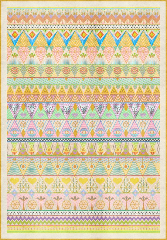 TROPIC THUNDER / PATTERN SERIES 004 Art Print