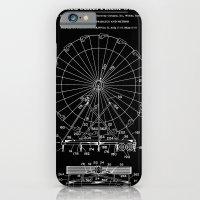 Amusement Ride Patent - Black iPhone 6 Slim Case