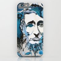 iPhone & iPod Case featuring Thoreau by MEERA LEE PATEL