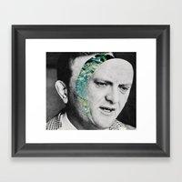 Where's your head going? Framed Art Print