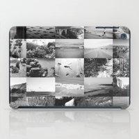 black and white world iPad Case