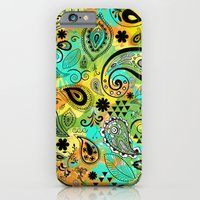 iPhone & iPod Case featuring Crazy Paisley by Kayla Gordon