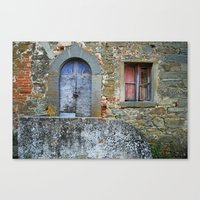 Old House In Italy Canvas Print