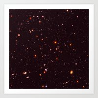 Vastness Of Space Art Print