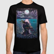 Midnight Meeting Mens Fitted Tee Black SMALL