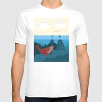 Hidden World Mens Fitted Tee White SMALL