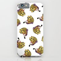 iPhone & iPod Case featuring Skating Cheetah by YAP9