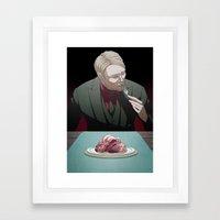 Remarkable Boy (Hannibal Lecter) Framed Art Print